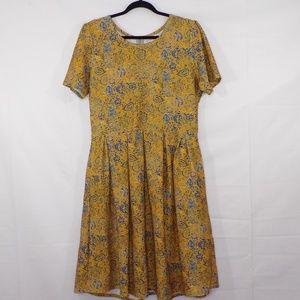 LuLaRoe Amelia Floral Print Dress, Sz 2XL
